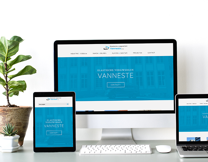 vanneste website responsive